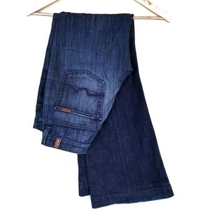 7 For All Man Kind Ginger Jeans Flared High
